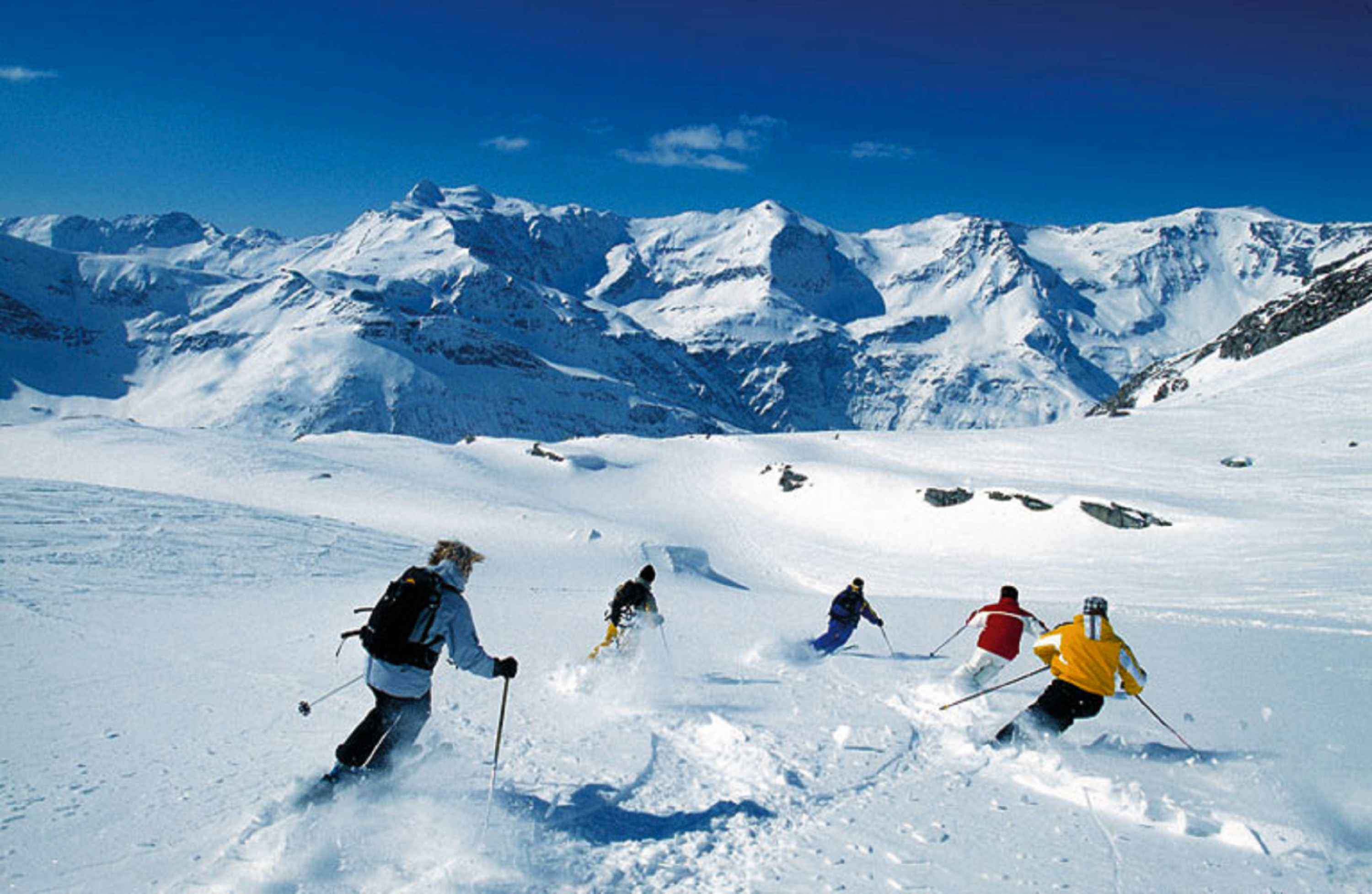 4 ski areas in Gastein Valley