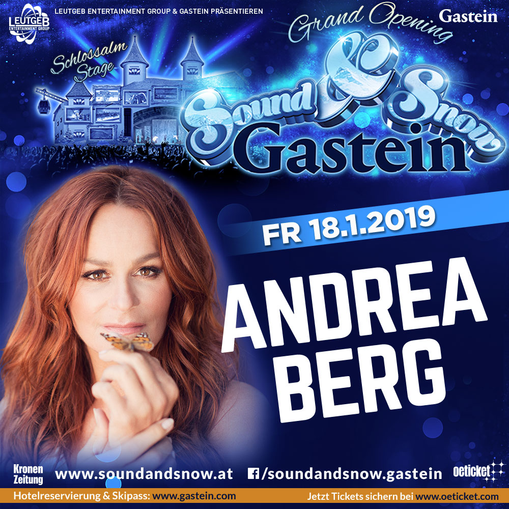 Andrea Berg Sound and Snow