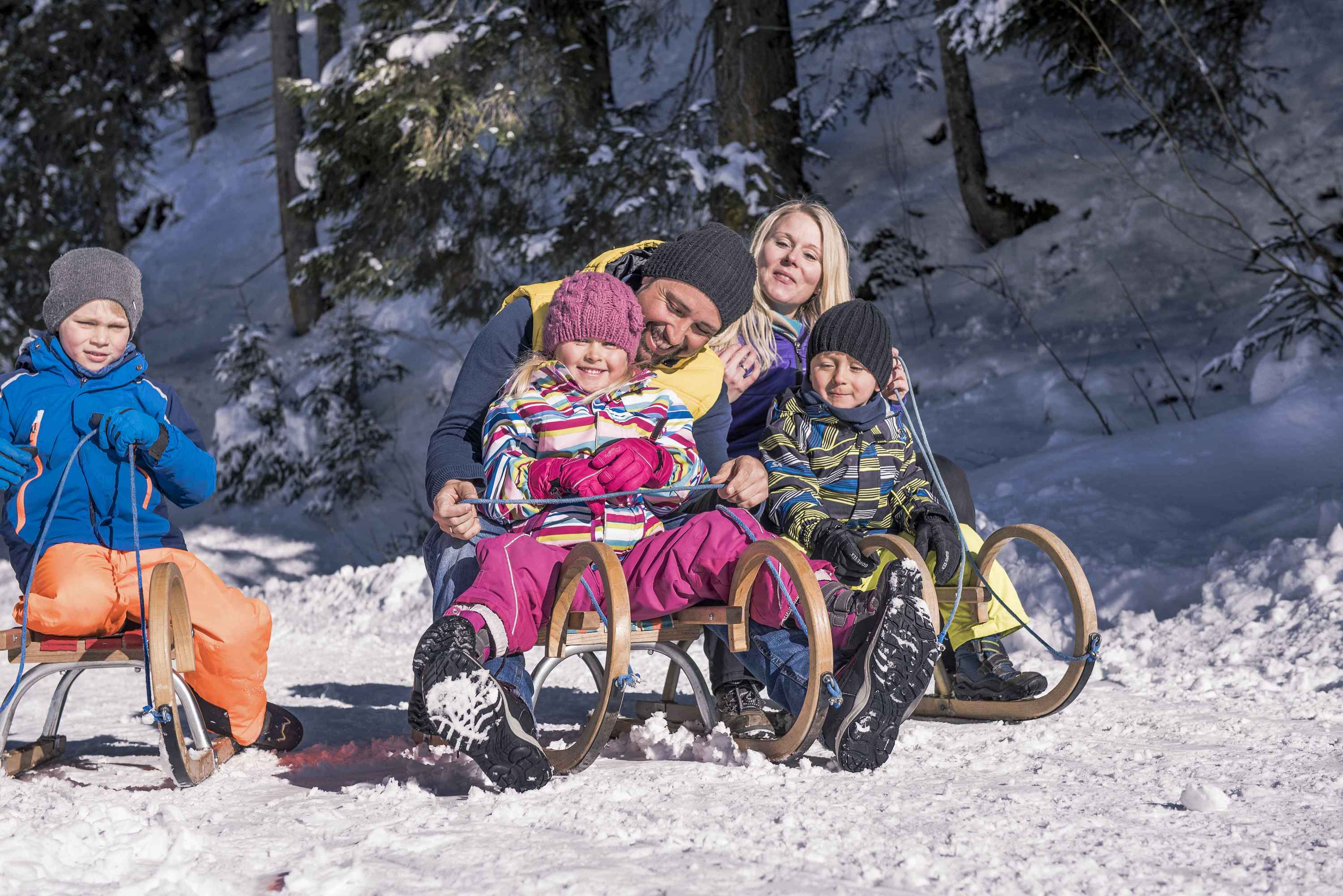 Family winter holidays in Gastein